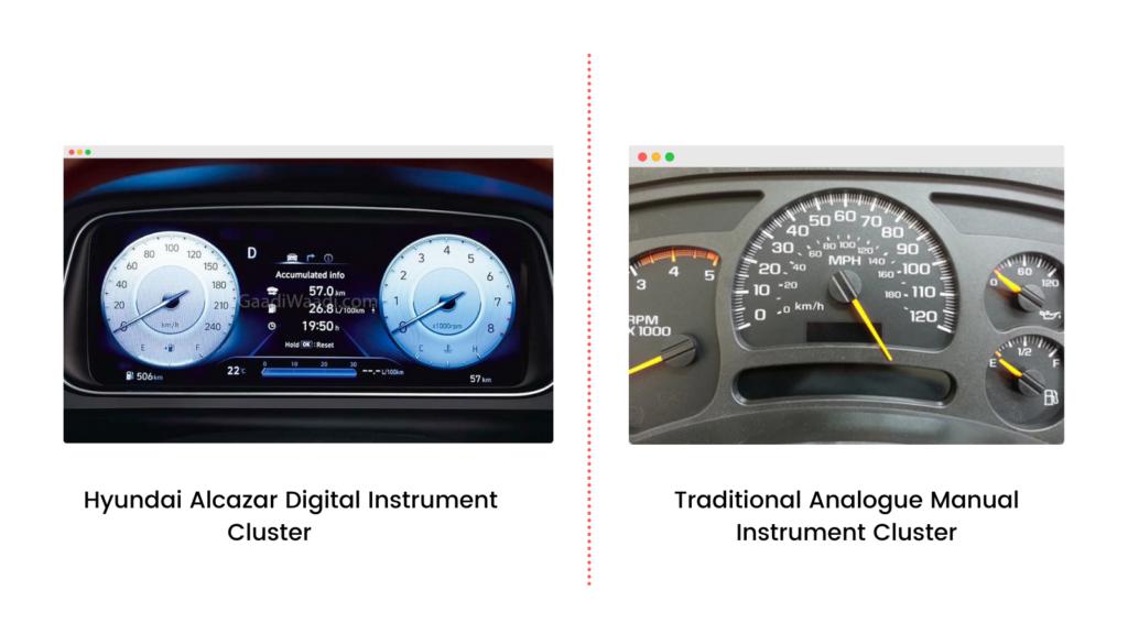 Hyundai Alcazar Digital Instrument Cluster (1)